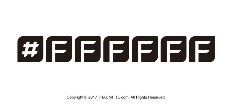 #ffffffタイトルロゴデザイン