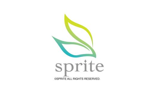スプライト ゲームブランドロゴデザイン