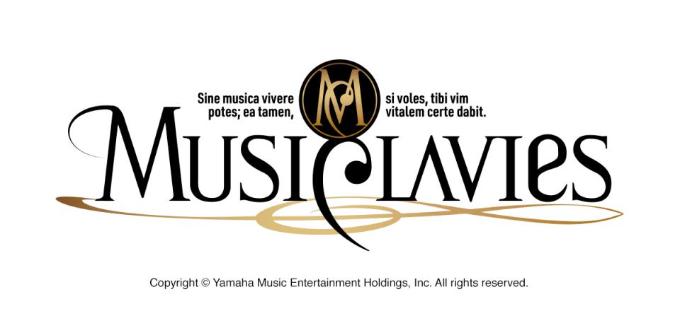 MUSICLAVIES ミュージックラヴィス ロゴデザイン