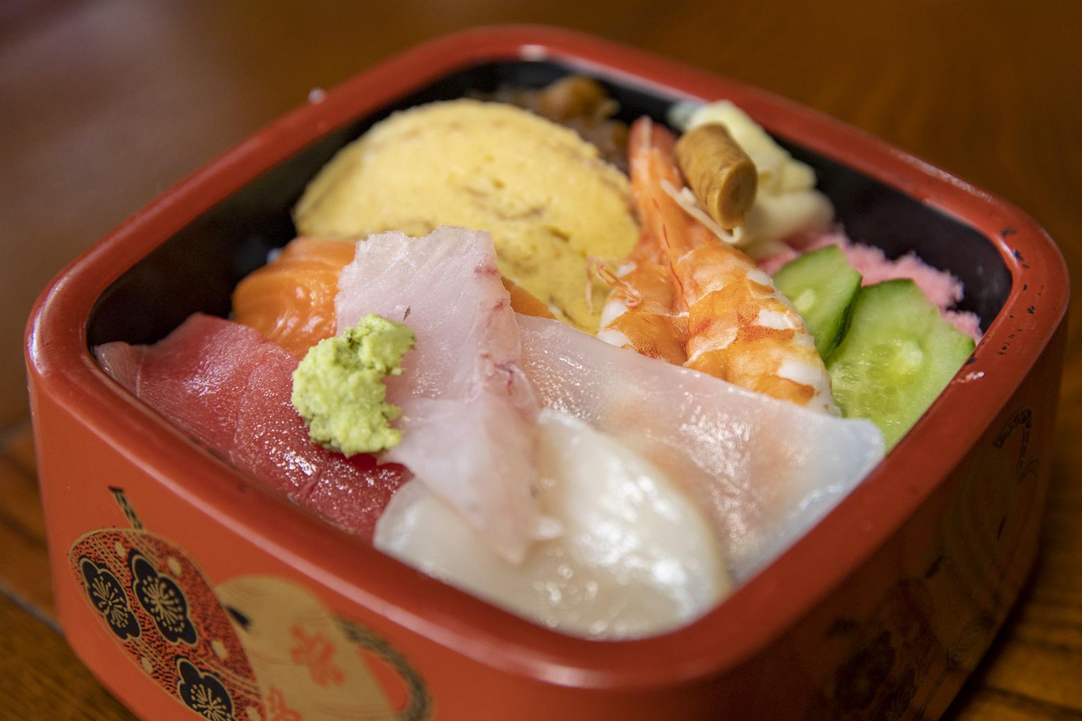 ちらし寿司定食1000円