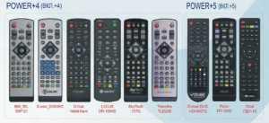 Пульт для приставок DVB T2 5