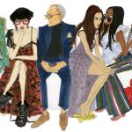 Иллюстрированный путеводитель к неделям моды от Stylebop