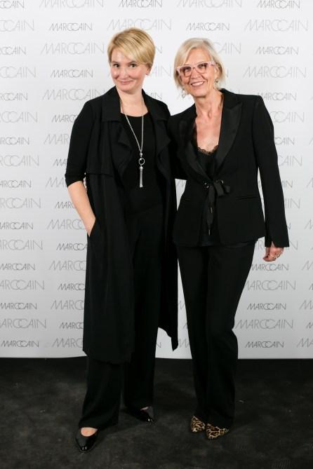 Надежда Кожевникова (New Couture Events) и Karin Veit (Marc Cain)