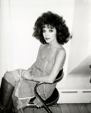 Joan Collins 1985