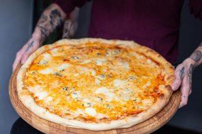 Сырная пицца3