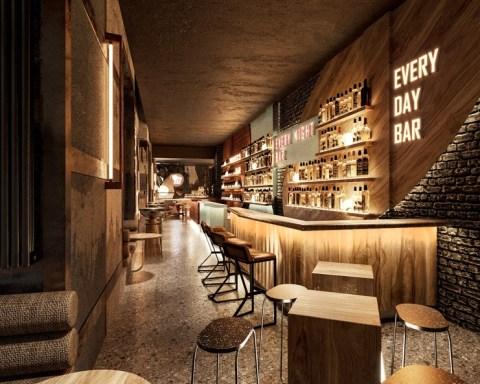 PAPA bar village Moscow