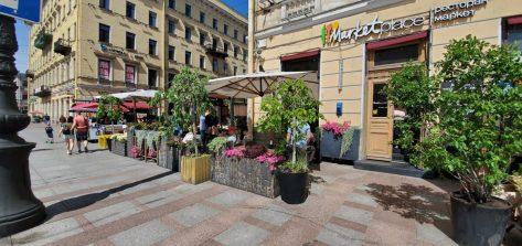 Летняя веранда Marketplace