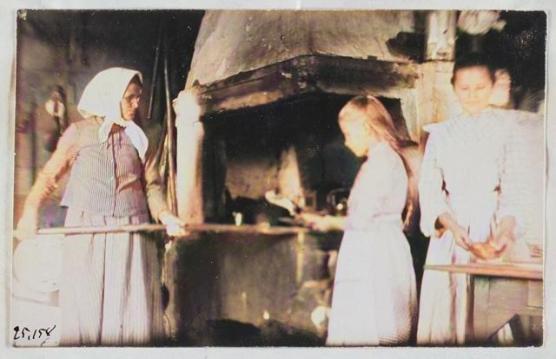 """Приготовление """"Калиток"""" Сортавала 1890-1910гг."""