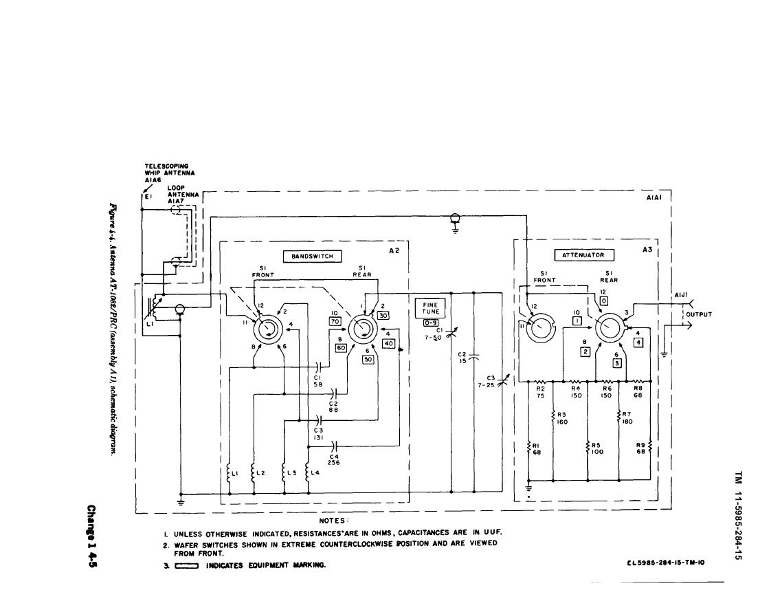 Figure 4 4 Antenna At Prc Assembly A1 Schematic