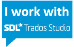 I work with SDL Trados Studio