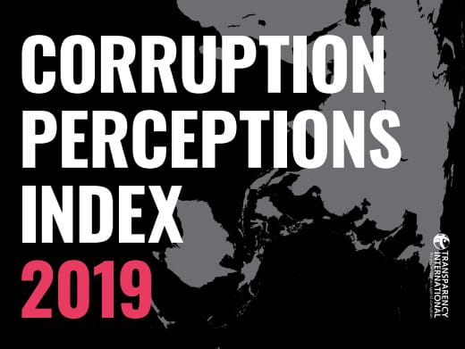 Haïti est classé 168e sur 180 pays selon l'Indice de Perception de Corruption (IPC) de Transparency International 1