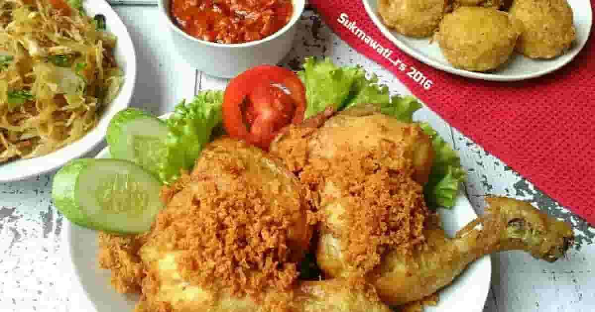 Resep Membuat Masakan Ayam Kremes