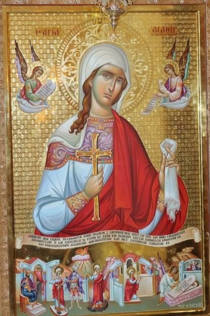 Η αγία Αγάθη, η προστάτης των παθήσεων του μαστού (5Φεβρουαρίου)