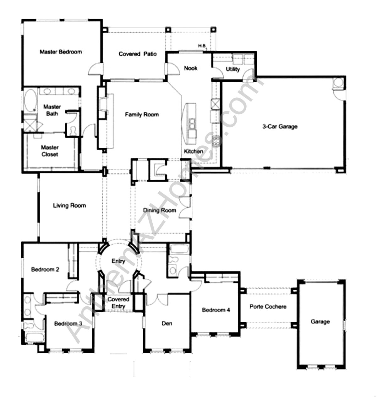 Pulte Homes Floor Plans Az