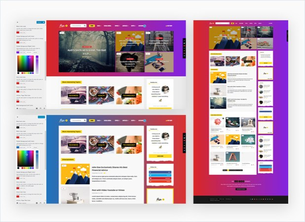 Bouplay WP - A WordPress Theme for Bloggers - 1
