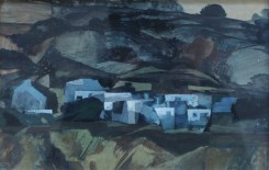 John Elwyn - Sparshot village, Winchester, Oil on board. Sold for £1,150 at Anthemion Auctions