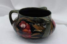 A Moorcroft Spanish pattern three handled vase. Sold for £450 at Anthemion Auctions