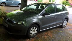A Volkswagen Polo S70 five door hatchback in grey, 1198cc, first registered 8th January 2011, mileage approximately 21,500. Sold for £3,500 at Anthemion Auctions