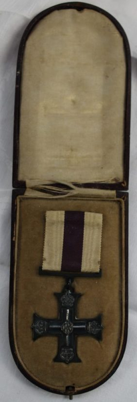 A World War I British Military Cross issued to Lt. A.S Gulston R.E Signals. Sold for £680 at Anthemion Auctions