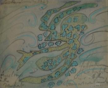 Ceri Richards - Ariel sings in the tempest