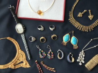 Some of the jewellery which will feature in our 23rd May Fine Sale - Lot number TBA