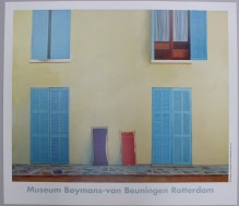 """After David Hockney (Born 1937) """"Twee Ligstoelen, Calvi/Two Deckchairs, Calvi, 1972,"""" A poster 71 x 81cm .Sold for £170 at Anthemion Auctions"""