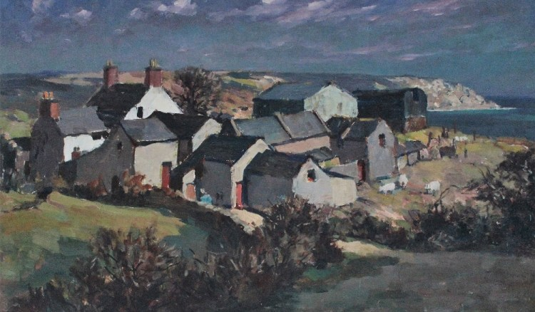 Gyrth Russell Gower Coast Farm, Port Eynon – Lot 493