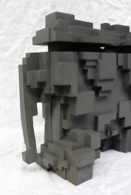 A Sir Eduardo Paolozzi elephant sculpture
