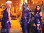 Apocalypse and two of his horsemen Storm and Psylocke
