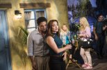 """(L to R) Brandon Barash (""""Thomas Calabro/Michael Mancini"""") and Teagan Vincze (""""Marcia Cross/Kimberly Shaw"""") star in the all-new Lifetime movie, The Unauthorized Melrose Place Story, premiering Saturday, October 10, at 8pm ET/PT Photo by Sergei Bachlakov Copyright 2015"""