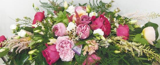 Επιτραπέζιες συνθέσεις με garden roses