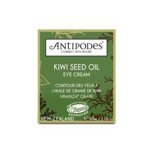Soins des yeux peau sensible Huile de graine de kiwi Antipodes boite
