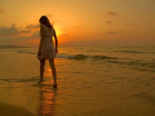 woman-sea