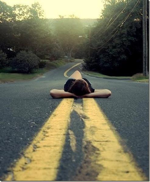 road-woman