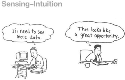 sensing-intuition