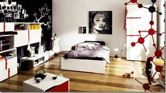 trendy-teenage-bedroom