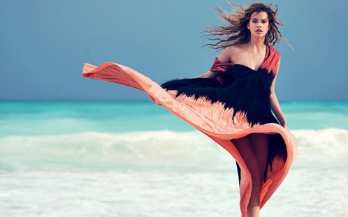 barbara-palvin-woman-beach-dress-sea-wind-1920x1200