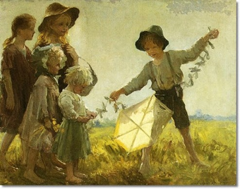 adam-emory-albright-children-playing-with-a-kite