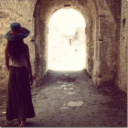 woman-open-door