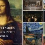 Οι 10 διασημότεροι πίνακες ζωγραφικής