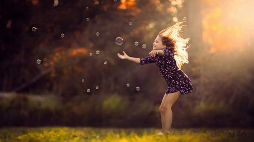 children-bubbles
