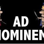 Το ad hominem επιχείρημα και η λογική πλάνη