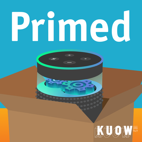 KUOW Primed Podcast Logo