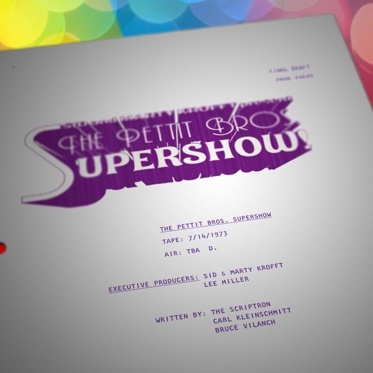 Pettit Bros. Super Show - S06E09 - Master Script