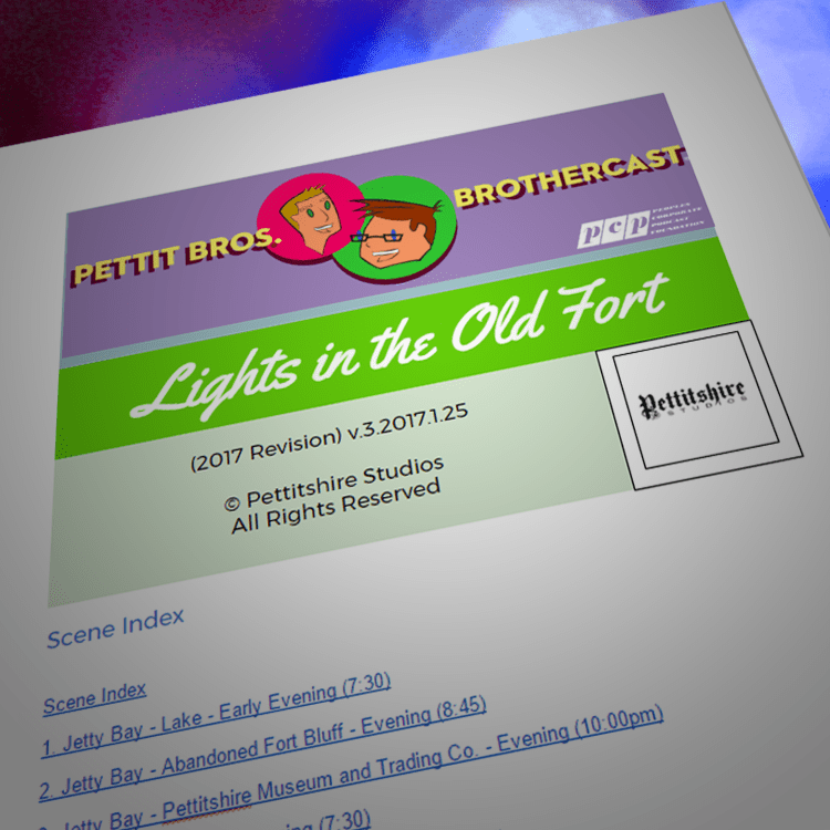 Season 3: Lights in the Old Fort