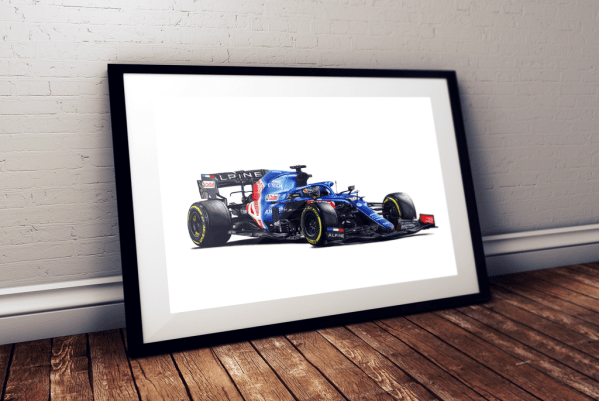 Fernando Alonso - Alpine A521 - 2021
