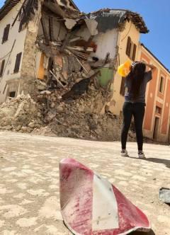 Jaysha Patel captures the destruction in Camerino's zona rossa, or red zone.
