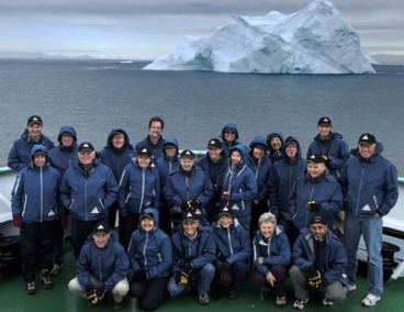 2006. The group of artists who went on the 2006 Arctic trip.