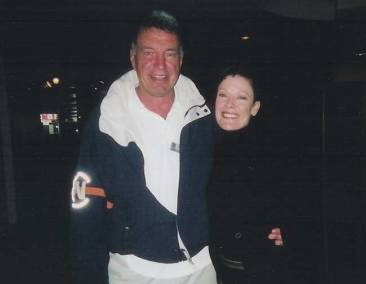 2003. Tony, Chair of the National Ballet's art committee, 2002-2005, with artistic director, Karen Kain.