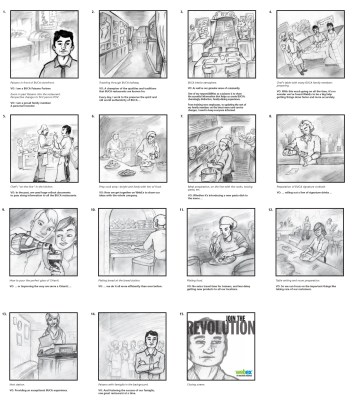 Buca Di Beppo | WebEx Storyboard